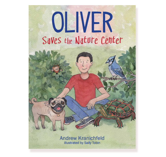 Oliver Saves the Nature Center: Cover